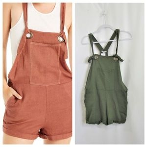 Patrons of Peace shorts overalls